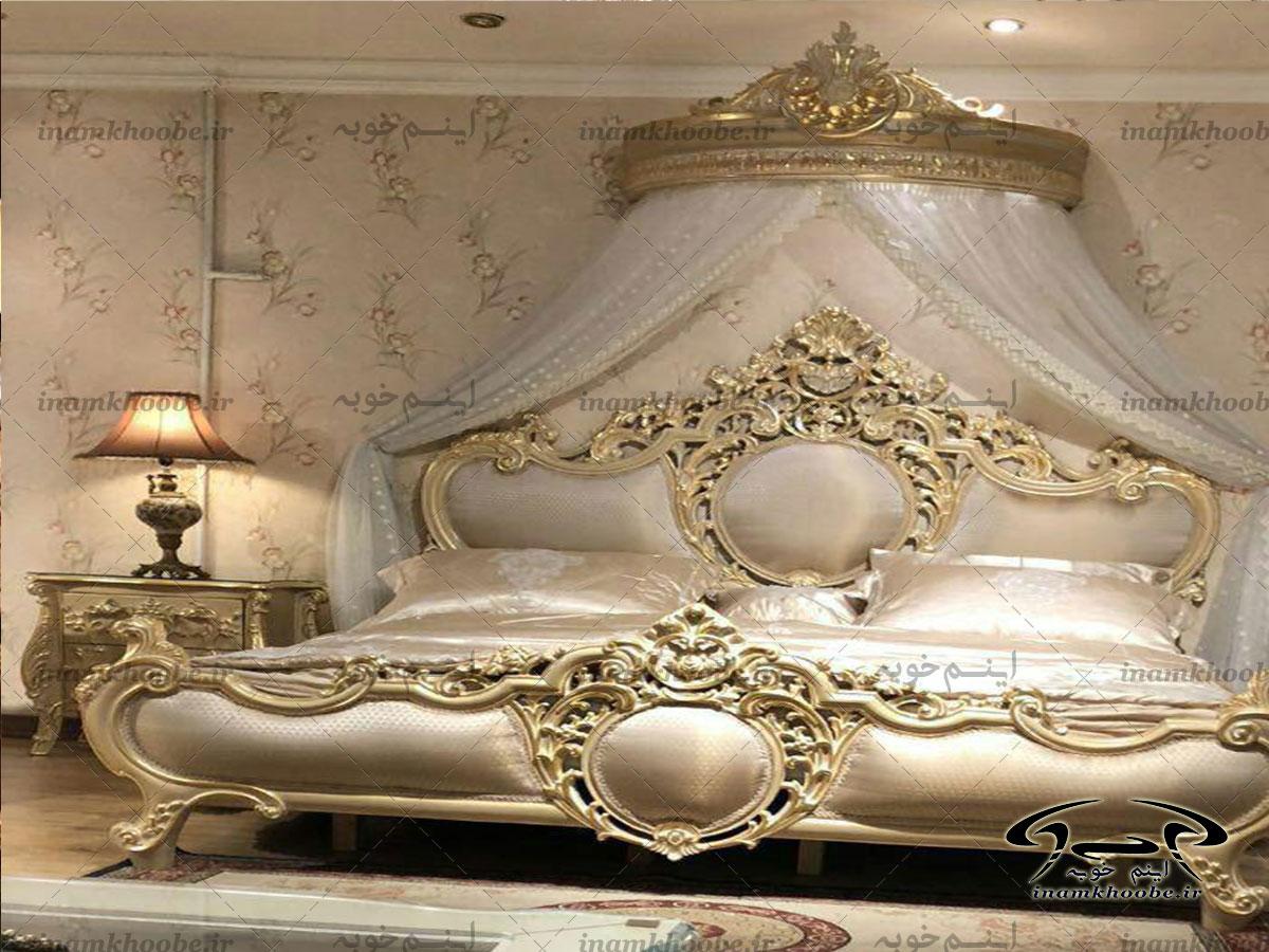 سرویس خواب سلطنتی سفید