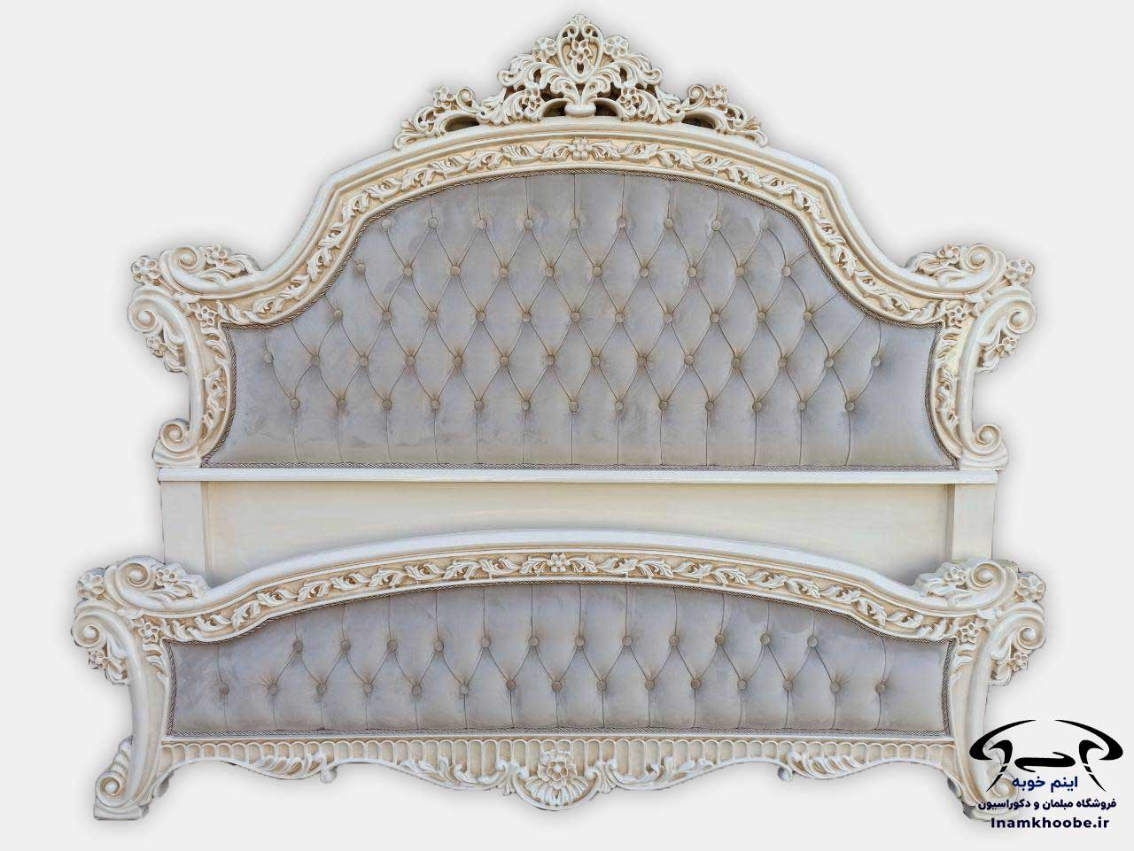 تخت خواب سلطنتی جدید