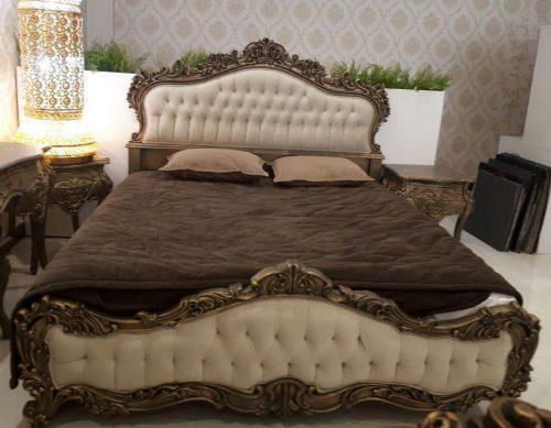 تخت خواب طلایی